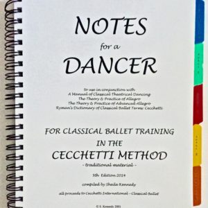 Notes for a Dancer