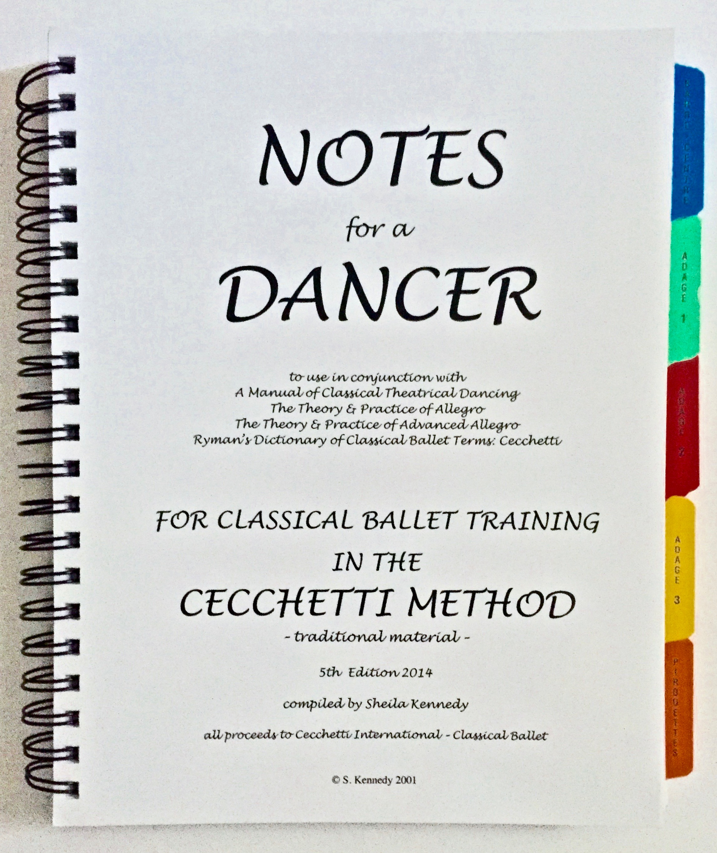 technical manual of classical ballet