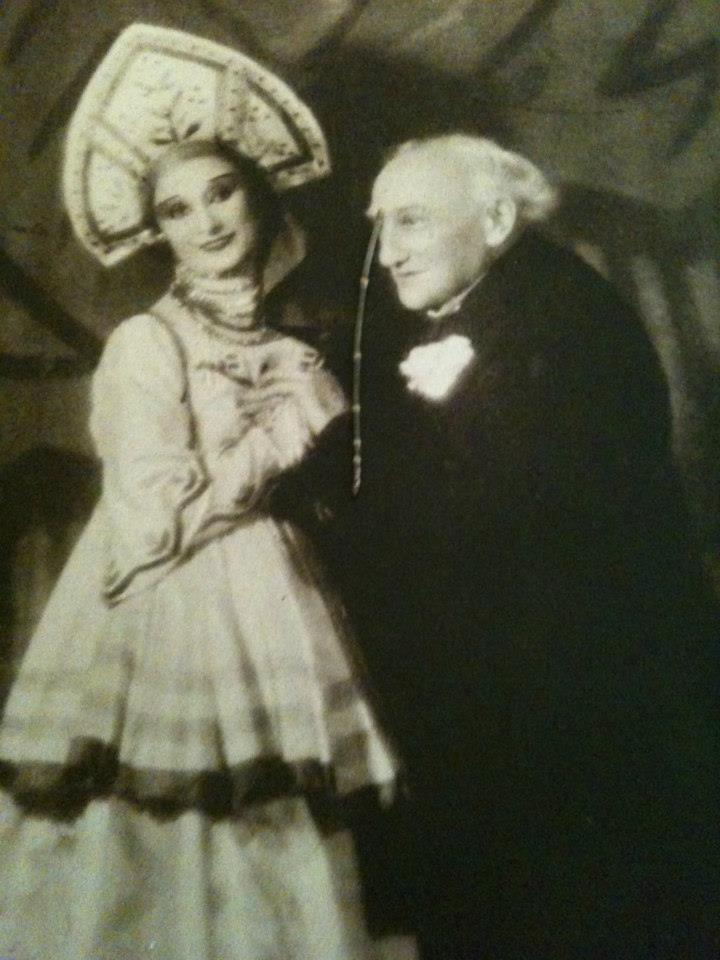 Enrico Cecchetti & Anna Pavlova
