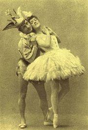 Sleeping Beauty Enrico Cecchetti & Varvara Nikitina (Bluebird&Princess Florine) 1890
